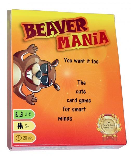 Beaver Mania Card Game
