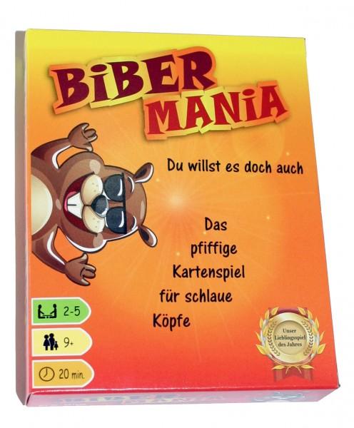 Biber Mania Kartenspiel